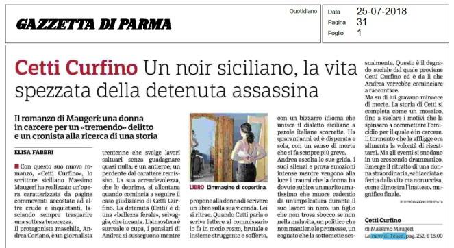 GAZZETTA DI PARMA 25.7.2018 (Cetti Curfino - art. di Elisa Fabbri).jpg